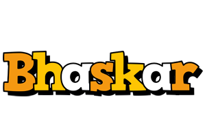 Bhaskar cartoon logo
