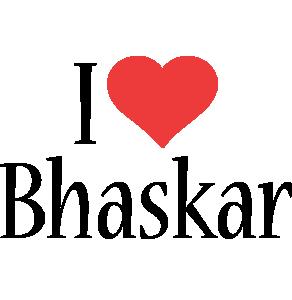 Bhaskar i-love logo