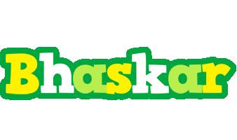 Bhaskar soccer logo