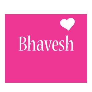 Bhavesh love-heart logo
