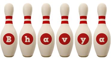 Bhavya bowling-pin logo