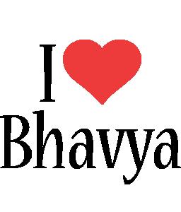 Bhavya i-love logo