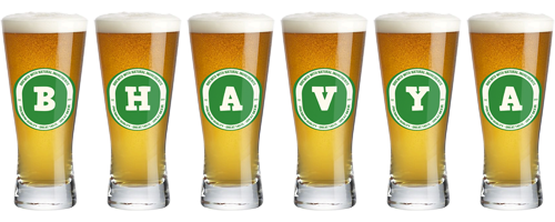 Bhavya lager logo