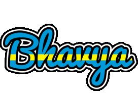Bhavya sweden logo