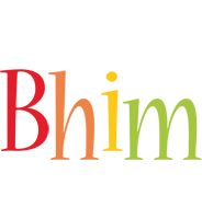 Bhim birthday logo