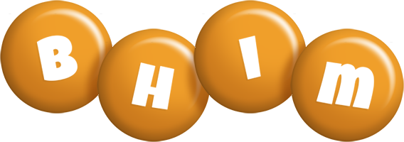 Bhim candy-orange logo