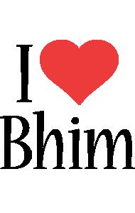 Bhim i-love logo