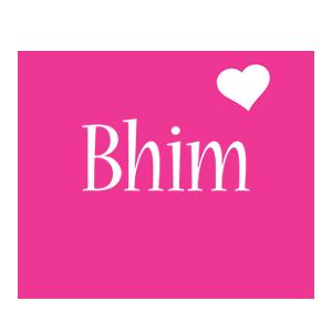 Bhim love-heart logo
