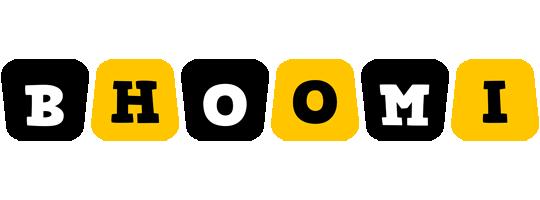 Bhoomi boots logo
