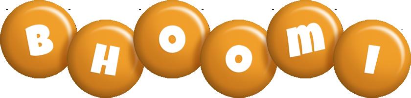 Bhoomi candy-orange logo