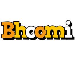 Bhoomi cartoon logo