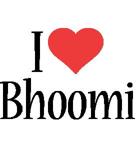 Bhoomi i-love logo