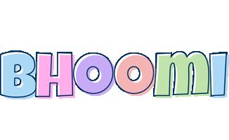Bhoomi pastel logo