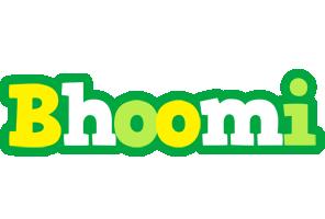 Bhoomi soccer logo