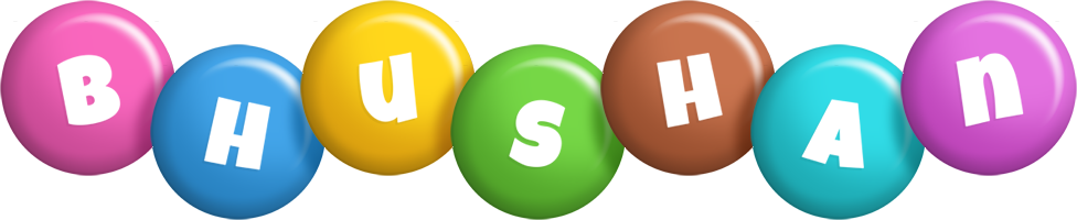 Bhushan candy logo