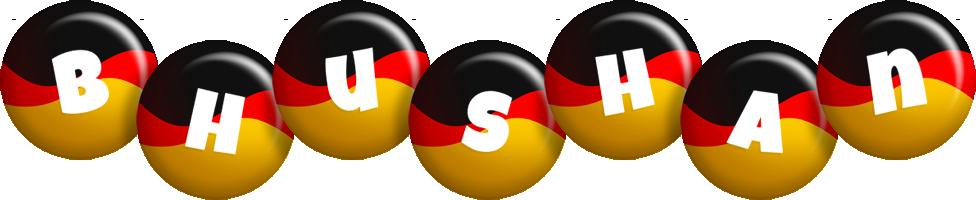 Bhushan german logo