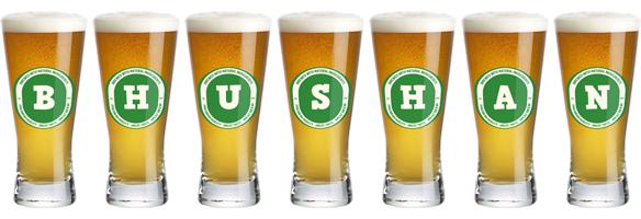 Bhushan lager logo