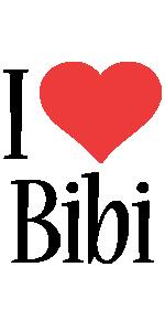 Bibi i-love logo