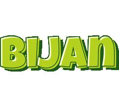 Bijan summer logo