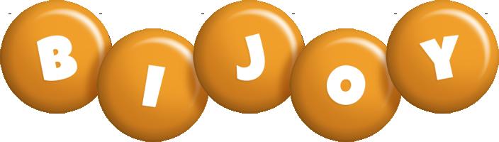 Bijoy candy-orange logo
