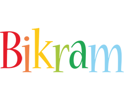 Bikram birthday logo