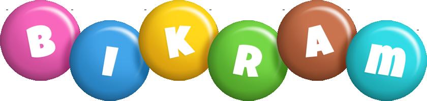 Bikram candy logo
