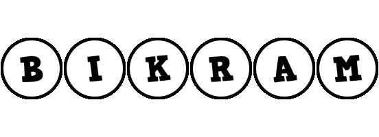 Bikram handy logo