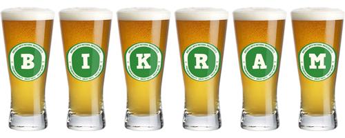 Bikram lager logo