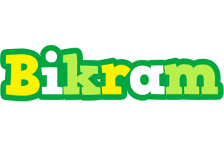 Bikram soccer logo