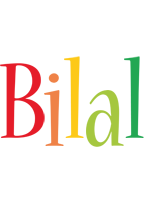 Bilal birthday logo