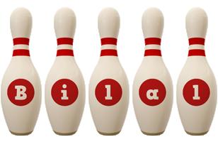 Bilal bowling-pin logo