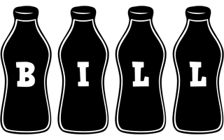 Bill bottle logo