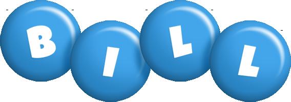 Bill candy-blue logo