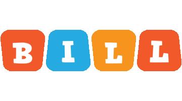 Bill comics logo