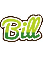 Bill golfing logo