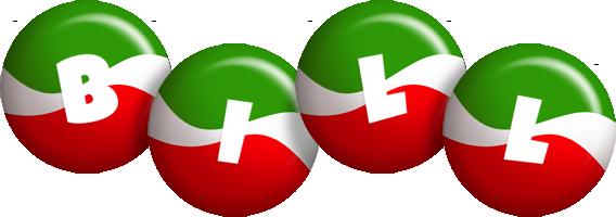 Bill italy logo