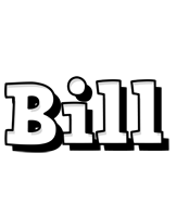 Bill snowing logo