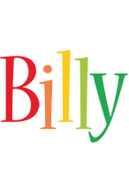 Billy birthday logo
