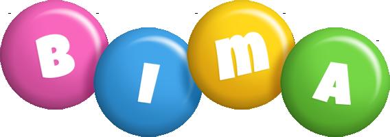 Bima candy logo