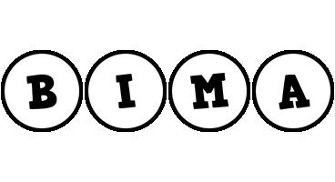 Bima handy logo