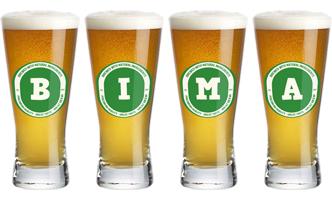 Bima lager logo