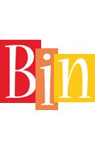 Bin colors logo