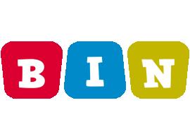 Bin kiddo logo