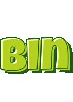 Bin summer logo