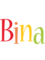 Bina birthday logo