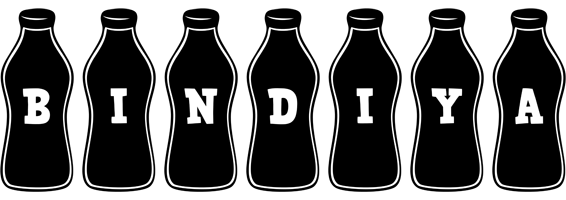 Bindiya bottle logo