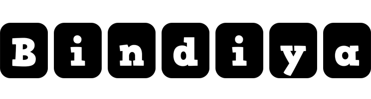 Bindiya box logo