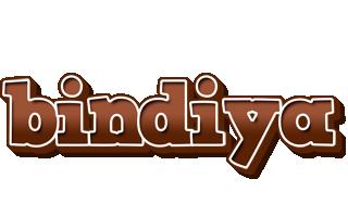 Bindiya brownie logo