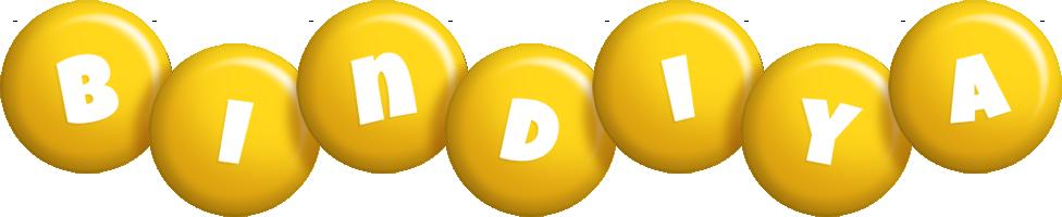 Bindiya candy-yellow logo