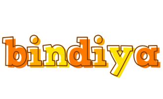 Bindiya desert logo